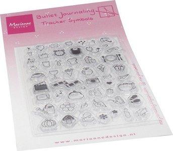 Marianne Design Clear Stamps Marjoleine's BuJo - Tracker symbols MZ1909
