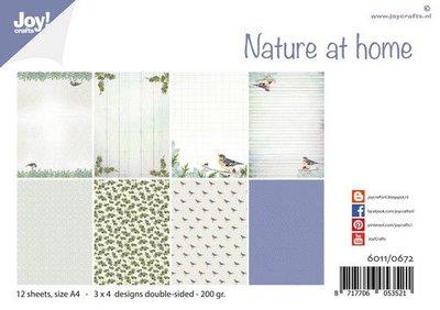 Joy! Crafts Papierset - Design Nature at home 6011/0672 A4