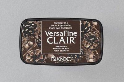 Versafine Clair inktkussen Dark Pinecone