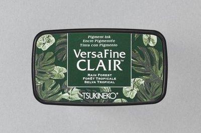 Versafine Clair inktkussen Dark Rain Forest
