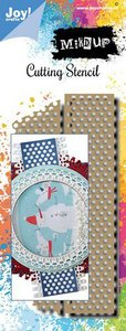 Joy! Crafts Stansmal - Noor - Mixed Up - Tape 6002/1564