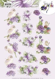 3D Cutting Sheet - Precious Marieke - Chrysanthemum