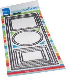 Marianne Design Craftable Slim line Frames CR1537