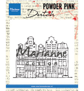 Marianne Design Clear stamp Amsterdamse Huisjes PP2804