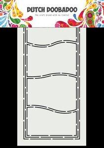 Dutch Doobadoo Dutch Card Art A5 Slimline Golven