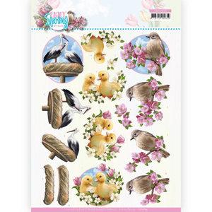3D Cutting Sheet - Amy Design - Enjoy Spring - Birds