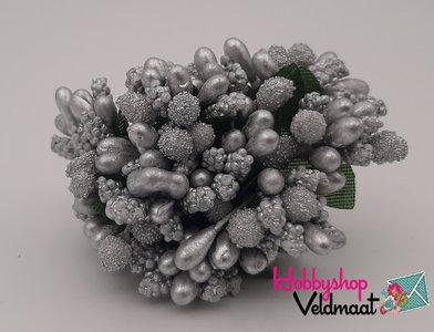Hobbyshop Veldmaat Bloemen Zilver 1 bosje