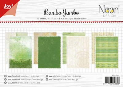 Joy! Crafts Papierset - Noor - Design Bambo jambo 12vl 6011/0676 A4