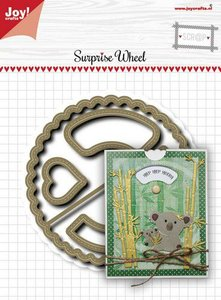 Joy! Crafts Stansmal - Noor - Suprise wheel 6002/1627