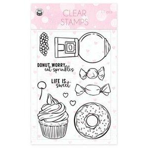 Piatek13 - Clear stamp set Sugar and Spice 01 A6
