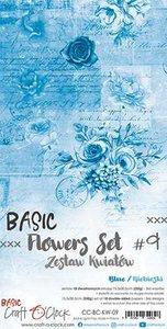 Craft OClock Basic Flowers Set 9, Blue