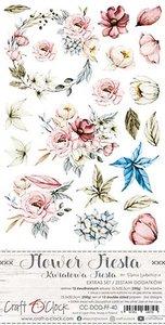 Craft OClock Extras to Cut Set Flower Fiesta
