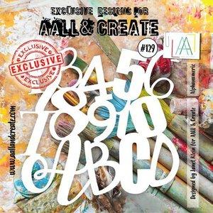 AALL & Create Stencil Alphanumeric