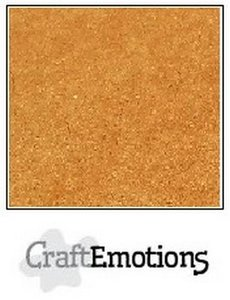CraftEmotions karton kraft bruin 10 vel 30,5 x 30,5 cm