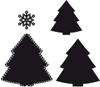 Marianne Design Craftable christmas tree CR1227