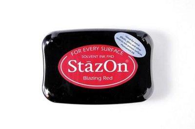 Stazon inktkussen Blazing Red