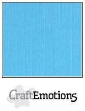 CraftEmotions linnenkarton aqua 30,0 x 30,0cm