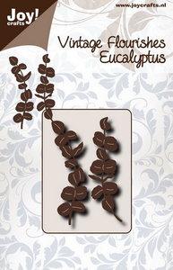 Joy! stencil Noor Design vintage flourishes eucalyptus 6003/0093