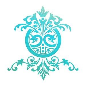 Couture Creations mini stamp Gentlemans emporium - Ornate icon