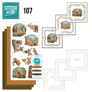 Stitch and Do Wild animals nr107
