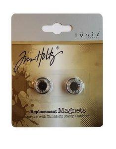 Tonic Studios Tools - 2 magneten voor stamping platform