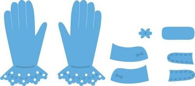 Marianne Design Creatables Tiny's Gloves LR0336