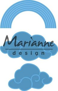 Marianne Design Creatable Regenboog en wolken LR0531