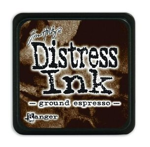 Ranger Distress Mini Ink pad - ground expresso