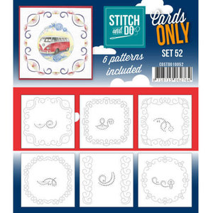 Cards only Stitch 52