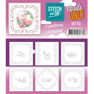 Cards only Stitch 53