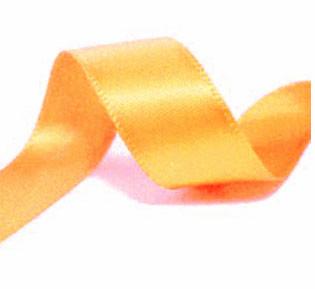 Satijnlint Warm Geel 9mm