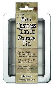 Ranger Mini Distress Ink storage tin Tim Holtz