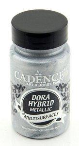 Cadence Dora Hybride metallic verf Zilver 90 ml