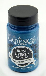 Cadence Dora Hybride metallic verf Blauw 90 ml