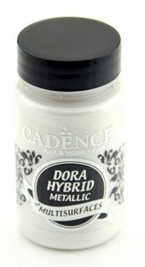 Cadence Dora Hybride metallic verf Parelmoer 90 ml