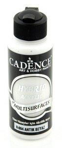 Cadence Hybride acrylverf (semi mat) Antiek wit 120 ml