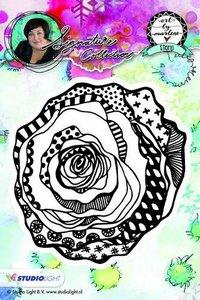 Studio Light Cling Stamp bloemen Art By Marlene nr.08