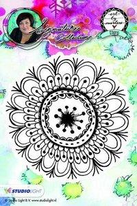 Studio Light Cling Stamp bloemen Art By Marlene nr.05