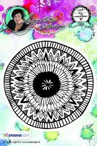 Studio Light Cling Stamp bloemen Art By Marlene nr.06