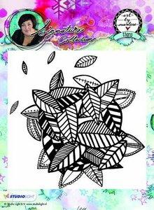 Studio Light Cling Stamp achtergrond Art By Marlene nr.10