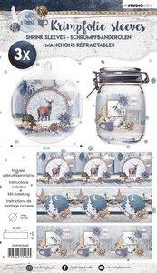 Studio Light krimpfolie 380x110 mm Snowy Afternoon nr 68