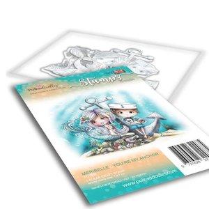 Polkadoodles stamp Meribelle - You're my anchor