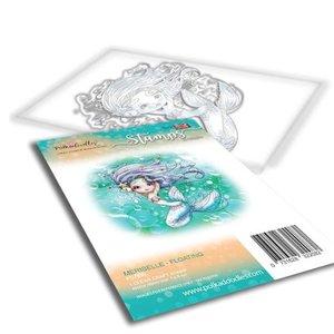 Polkadoodles stamp Meribelle - Floating