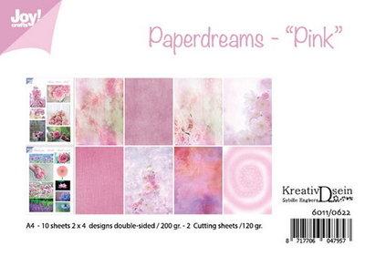 Joy! papierset Bille Design Paperdreams Pink 6011/0622