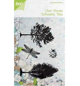 Joy! Clearstempel Bomen, lieveheersbeestje 6410/0430